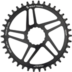 Wolf Tooth Direct Mount Chainring - 50t, RaceFace/Easton CINCH Direct Mount, Drop-Stop, 10/11/12-Speed Eagle and Flattop Compatible, Black