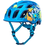 Kali Protectives Chakra Child Helmet - Monsters Blue, Children's, X-Small