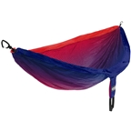 Eagles Nest Outfitters DoubleNest Print Hammock: Fade Red/Sapphire