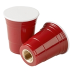 Red Cup Living Valve Caps