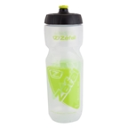 Zefal Shark 80 Water Bottle, 27oz, Transparent/Green