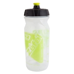 Zefal Shark 65 Water Bottle, 22oz, Transparent/Green