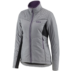 Garneau Haven Hybrid Women's Jacket: Heather Gray