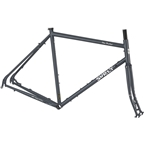 Surly Disc Trucker 700c Bituminous Gray Touring Frameset