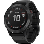 Garmin Fenix 6 Pro GPS Watch - Black/Black