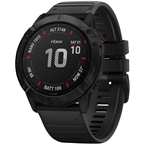 Garmin Fenix 6X Pro GPS Watch - Black/Black