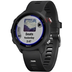 Garmin Forerunner 245 Music Wi-Fi GPS Running Watch: Black/Red