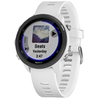 Garmin Forerunner 245 Music Wi-Fi GPS Running Watch: White/Black