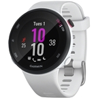 Garmin Forerunner 45 GPS Watch: White Small