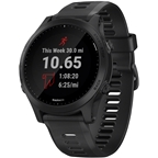 Garmin Forerunner 945 Wi-Fi GPS Running Watch: Black