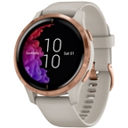 Garmin Venu GPS Watch - Light Sand/Rose Gold