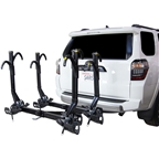 Saris SuperClamp EX Hitch Bike Rack - 4-Bike 2 Receiver Black