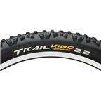 "Continental Trail King Tire - 26 x 2.4"" UST Tubeless, Folding, Black, 240tpi"
