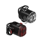 Lezyne Femto USB Drive Combo Light Set, Black