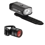 Lezyne Mini Drive 400XL/Femto Drive Combo Light Set, Black