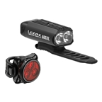Lezyne Micro Drive 600XL/Zecto Auto Combo Light Set, Black
