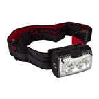 Sigma HEDLED Headlamp, Black/Red