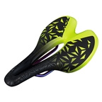 Supacaz Ignite Ti Saddle, 155mm, Neon Yellow