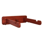 Gear Up OakRak Solo Single Bike Wall Mount, Red Oak