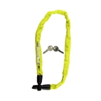 "Kryptonite Keeper 465 Key Integrated Chain, 4mm x 2' 1.5"", Yellow"