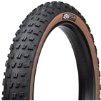 45NRTH Vanhelga Tire - 27.5 x 4, Tubeless, Folding, Black/Tan, 60tpi