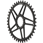 Wolf Tooth Elliptical Direct Mount Chainring - 40t, RaceFace/Easton CINCH Direct Mount, 3mm Offset, 10/11/12-Spd Eagle and Flattop, Black