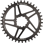 Wolf Tooth Direct Mount Chainring - 38t, SRAM Direct Mount, For SRAM 3-Bolt, 6mm Offset, 10/11/12-Spd Eagle and Flattop Compatible, Black