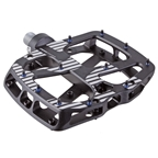 E*thirteen Plus Platform Pedals, Aluminum Body - Black