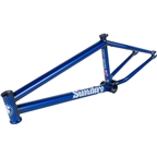 "Sunday Street Sweeper BMX Frame - 21"" TT, Matte Translucent Blue"