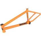 "Sunday Street Sweeper BMX Frame - 21"" TT, Matte Orange Whip"