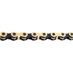 "Izumi Chain V Super Toughness 3/32"" Chain, Gold/Black"