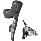 SRAM RED eTap AXS HRD Shift/Brake Lever and Hydraulic Disc Caliper - Right/Rear, Flat Mount, 20mm Offset, 1800mm Hose, Black/Silver, D1
