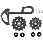 SRAM EX1 Rear Derailleur Pulley and Inner Cage Assembly - 8-Speed, Black