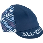 All-City Flow Motion Cycling Cap - Blue One Size