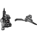 TRP G-Spec Trail SL Disc Brake and Lever - Rear, Hydraulic, Post Mount, Gloss Black