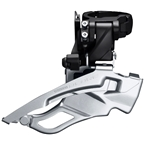 Shimano Deore FD-T6000-H-3 10-Speed Triple Down-Swing Dual-Pull Front Derailleur, Black