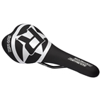 Reverse Fort Will Style CrMo Saddle, Black/White