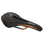 Reverse AM Ergo CrMo Saddle, Black/Fox Orange