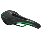 Reverse AM Ergo CrMo Saddle, Black/Neon Green
