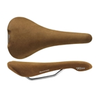 Selle Italia Flite 1990 Classic Titanium Saddle, L1, Nubuk Brown
