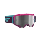 Leatt Velocity 4.5 Goggle, Pink, Clear 83% Lens