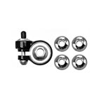 Pinhead Solid Axle Locks, 4 Pack - 9mm/10mm Front And Rear