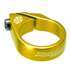 Reverse Bolt Seatpost Clamp, 34.9mm, Gold