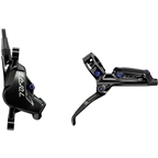 SRAM Level Ultimate Disc Brake and Lever - Rear, Hydraulic, Post Mount, Black with Rainbow Hardware, B1