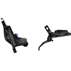 SRAM Code RSC Disc Brake and Lever - Rear, Hydraulic, Post Mount, Black with Rainbow Hardware, A1