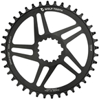 Wolf Tooth Direct Mount Chainring - 40t, SRAM Direct Mount, For SRAM 3-Bolt, 6mm Offset, Drop-Stop, Flattop Compatible, Black