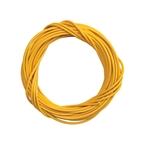 Sunlite Lined Cable Housing, 5mm x 50ft, Yellow