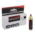 Zefal Threaded 25g Co2 Cartridges, 2 Pack