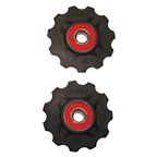 Origin8 11 Tooth Ceramic Pulley Set, Fits Campy, Shimano and Sram 7,8,9, and 10sp