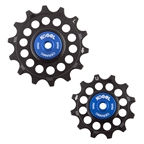 Kogel Hybrid Ceramic Derailleur Pulleys, Sram Eagle NW, 12 Speed, Black/Blue